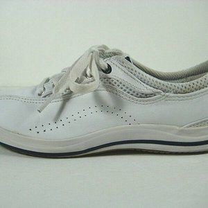 KEDS Womens/Girls Leather Casual Sneakers White